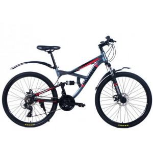 "Велосипед Pioneer Safari 16"" gray/black/red"