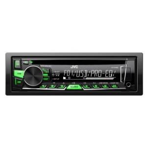 Автомагнитола JVC KD-R469EY, черный/многоцветный