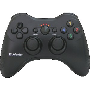 Беспроводной геймпад DEFENDER Scorpion L3 USB-PS2-PS3, радио, Li-Ion