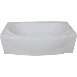 Ванна BAS Фиеста белая 194x90 без гидромассажа, с сифоном, без панели