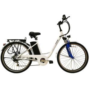 Электровелосипед Pioneer Fantasy White/Blue