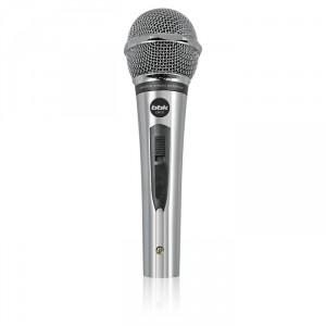 Микрофон BBK CM131, 4м, серебристый