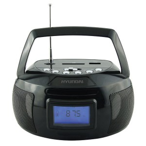 Аудиомагнитола Hyundai H-PAS140, черный