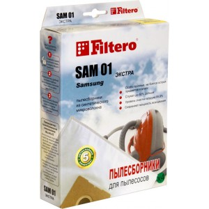 Пылесборники Filtero SAM 01 Экстра 4 шт