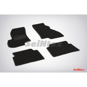 Ворсовые коврики LUX для Hyundai Santa Fe I 2001-2006