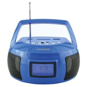 Аудиомагнитола Hyundai H-PAS160, синий