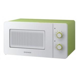 Микроволновая печь Daewoo KOR-5A17, бело/зеленый