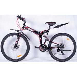"Велосипед Pioneer Dolphin 18"" black/red/white"