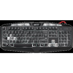 Клавиатура Defender Punisher GK-130DL RU,7-ми цветная,19 Anti-Ghos