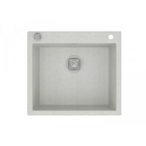 Мойка кварцевая TOLERO R-111 №923, белая