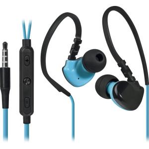Наушники Defender OutFit W770, черный/голубой