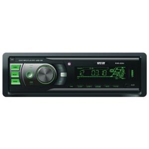 Автомагнитола Mystery MAR-828U, черный/зеленый
