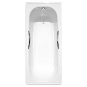 Ванна ESTAP Deluxe белая 150х71 с ручками и комплектом подставок
