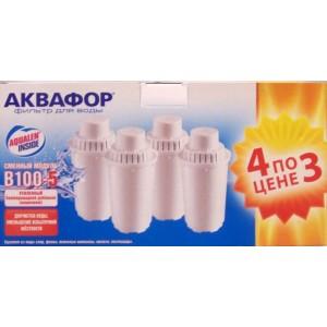 Картридж АКВАФОР B100-5 с бактерицидной добавкой комплект 4 шт