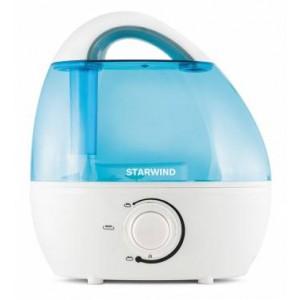 Увлажнитель воздуха StarWind SHC2216, белый/синий