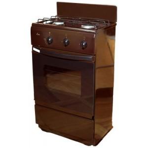 Плита FLAMA CG3202-B, коричневый