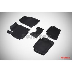 Резиновые коврики с высоким бортом для Hyundai i20 2009-2012