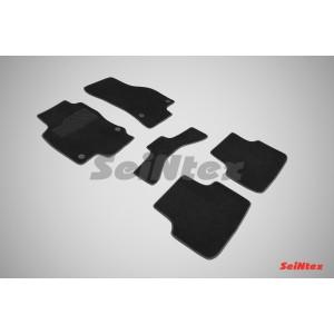 Ворсовые коврики LUX для Skoda Octavia A7 2013-н.в.