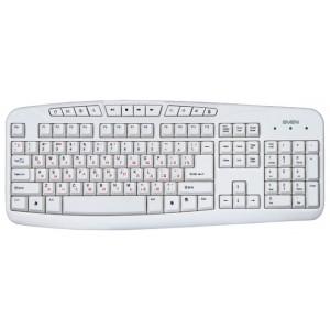 Клавиатура Sven comfort 3050, USB, белый