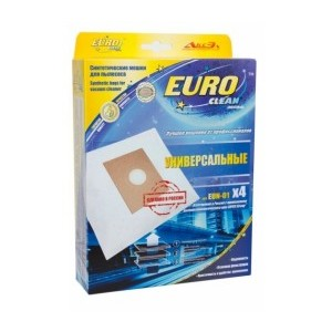 Пылесборники EURO Clean EUN-01 4 шт