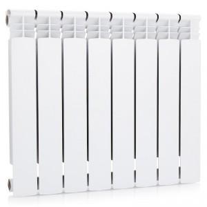 Радиатор Rifar Alum 500/90 8 секций белый