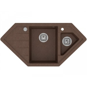 Мойка кварцевая TOLERO R-114 №817, коричневая