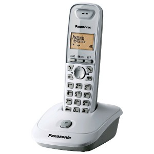 Радиотелефон Panasonic KX-TG2511RUW белый