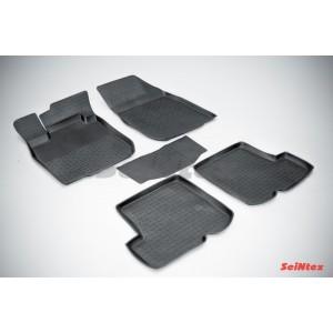 Резиновые коврики с высоким бортом для Renault Sandero 2010-2014