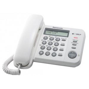 Проводной телефон Panasonic KX-TS2356RUW, белый