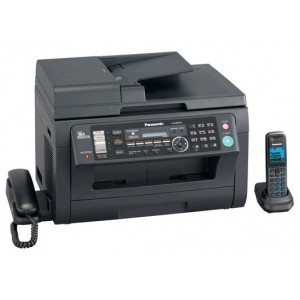 МФУ Panasonic KX-MB2061RUB + DECT трубка, формат A4, лазерный, черный