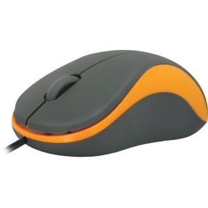 Мышь Defender Accura MS-970, серый/оранжевый