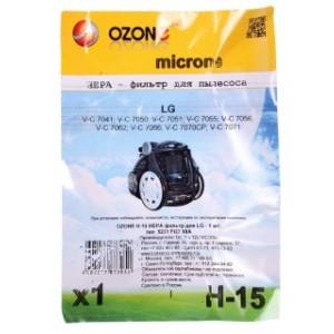 Фильтр для пылесоса Ozone H-15