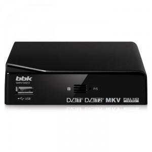 Цифровой ресивер BBK SMP015HDT2, черный