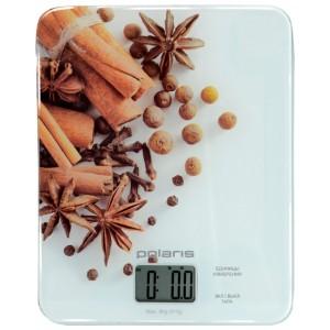 Кухонные весы Polaris PKS-0832DG, белый