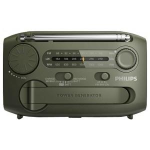 Радиоприемник Philips AE1125/12, зеленый