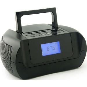 Аудиомагнитола SUPRA BB-105UB, черный