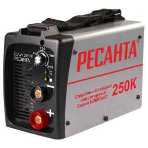 Сварочный аппарат инверторный Ресанта САИ-250 К(компакт)