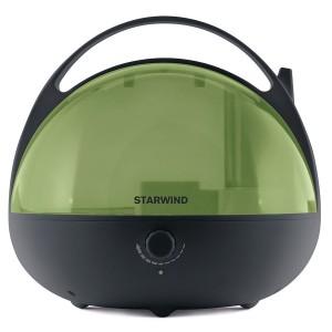 Увлажнитель воздуха StarWind SHC3415, черный/зеленый