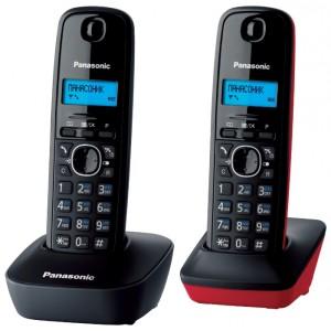 Радиотелефон Panasonic KX-TG1612RU3, черный