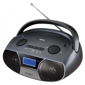 Аудиомагнитола SUPRA BB-27MUS, черный
