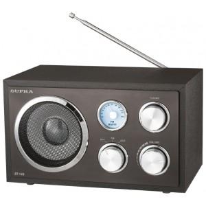 Радиоприемник SUPRA ST-125, черный
