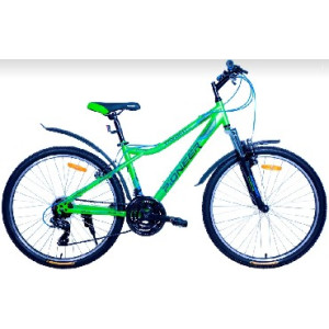 Велосипед Pioneer Favorite T 16'' green/black/blue