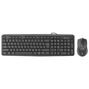 Комплект (клавиатура + мышь) Defender Dakota C-270 RU,черный