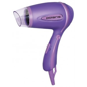 Фен Polaris PHD 1241TR, фиолетовый