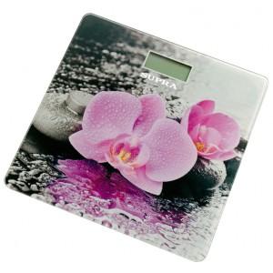 Весы напольные SUPRA BSS-2001, розовый/рисунок