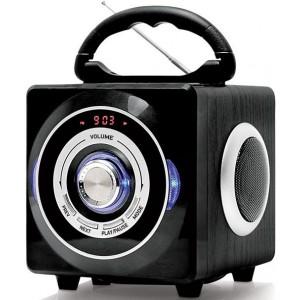 Аудиомагнитола BBK BS03BT, черный