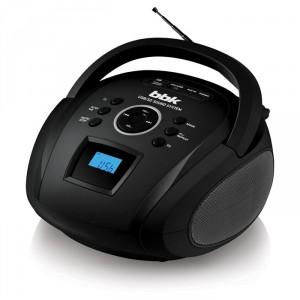 Аудиомагнитола BBK BS08BT, черный