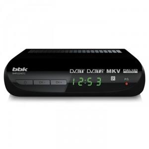Цифровой ресивер BBK SMP022HDT2, черный