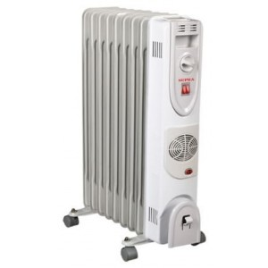 Масляный радиатор SUPRA ORS-09-F1, белый