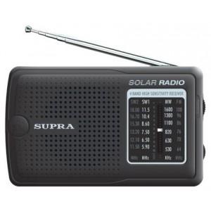 Радиоприемник SUPRA ST-111, черный